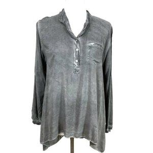 Grey Violet  Rosetta Tunic Top Size Small Italy
